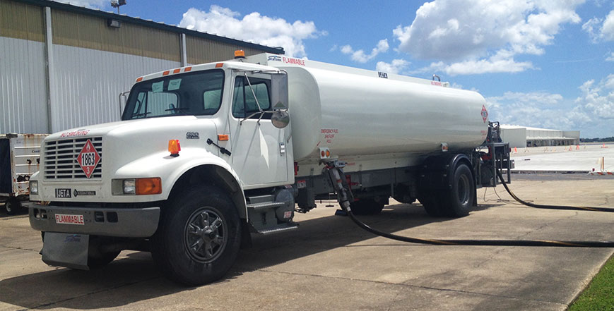Used aviation fuel trucks from the experts at Aircraft Refuelers