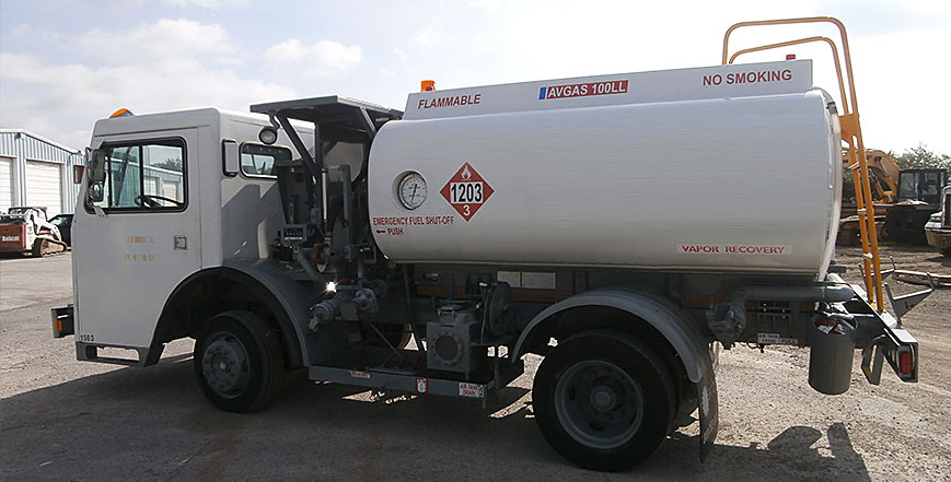 Quality used jet fuel trucks at Aircraft Refuelers